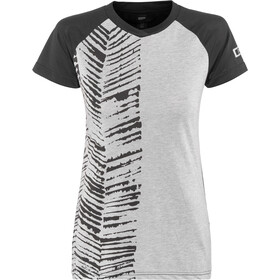 ION Scrub AMP T-shirt Dames, grey melange